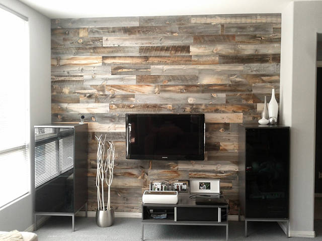 pictures of reclaimed wood walls 3