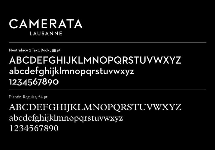 <p>The Neutraface font was used as a starting point, then completely redrawn by Emmanuel Rey. &quot;The horizontal stroke of the A is higher, to erase the old-fashioned feeling of Neutraface, and the S is balanced differently . Horizontal strokes of E and R are also fixed at the same height for more homogeneity, E and T are wider for spacing and kerning reasons and the weights of the first and second lines of the logotype are perfectly balanced,&quot; Conrad says.</p>