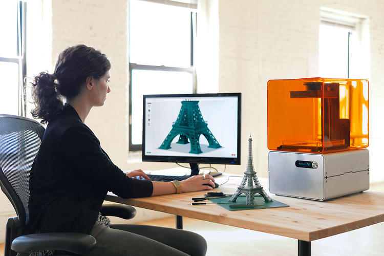 <p>With the Form 1, Formlabs sought to build a 3-D printer for designers, by designers.</p>