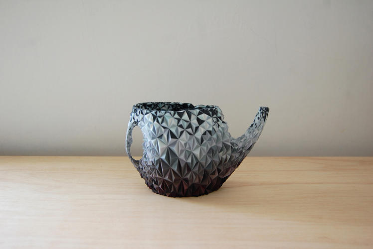 <p>Here, a newly transformed teapot.</p>
