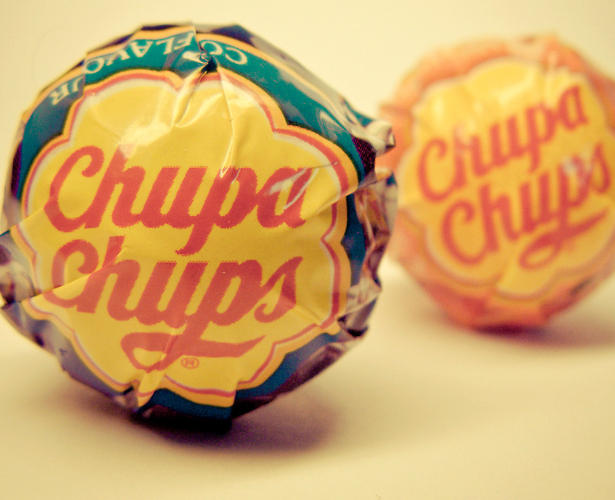 <p>One day in 1969, Enric Bernat, the owner of the Catalan lollipop company Chupa Chups, was sharing his branding woes to a friend over coffee. That friend was Salvador Dalí, and <a href=&quot;http://www.fastcodesign.com/1669224/salvador-dal-s-real-masterpiece-the-logo-for-chupa-chups-lollipops&quot; target=&quot;_self&quot;>according to lore</a>, he immediately set about solving Bernat's problem, sketching on newspapers what would become the company's recognizable, enduring daisy icon. Read more of the backstory <a href=&quot;http://www.fastcodesign.com/1669224/salvador-dal-s-real-masterpiece-the-logo-for-chupa-chups-lollipops&quot; target=&quot;_self&quot;>here</a>.</p>