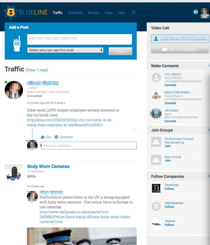 Inside BlueLine, The Social Network For Police