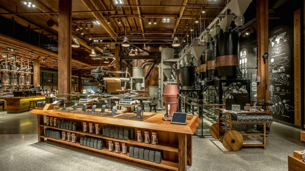 Starbucks Reserver Roastery and Tasting Room