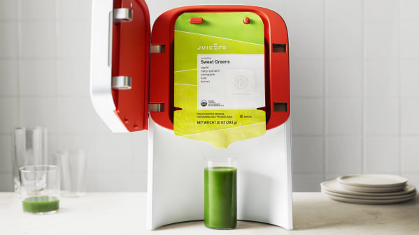 The Juicero Press And Packs