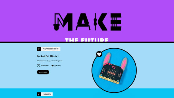Make with the BBC micro:bit