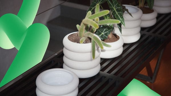 A planter for people who hate dirt