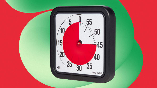 A clock for sharpening your focus