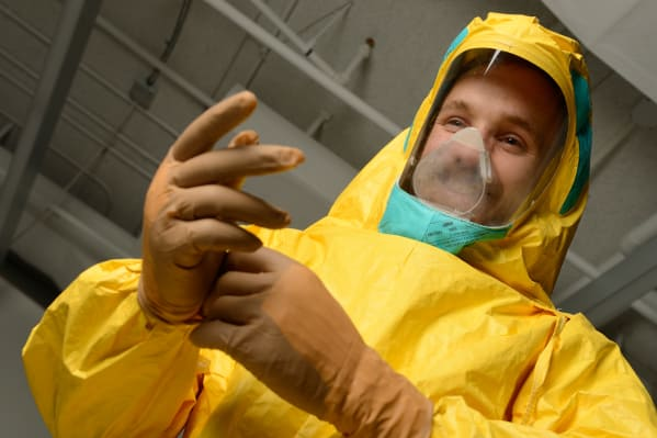 New Ebola Protective Suit