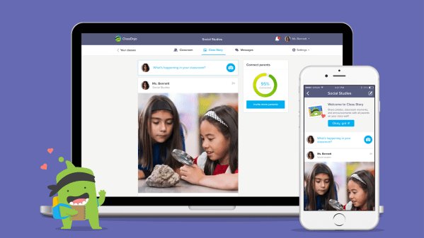 Classdojo Class Story And School Story Innovation By Design Fast