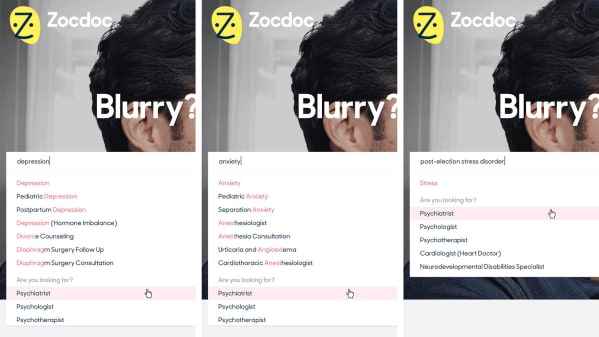 Zocdoc Patient-Powered Search