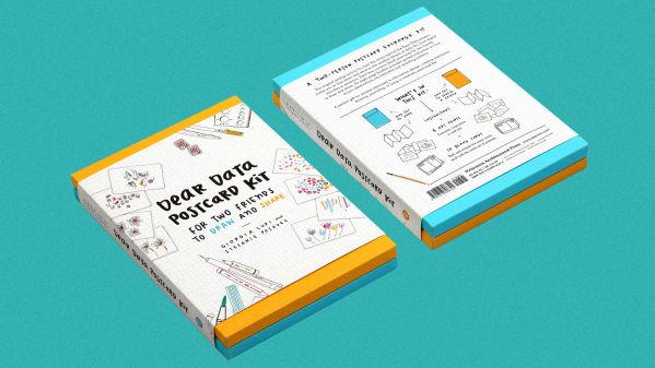 Dear Data Postcard Kit