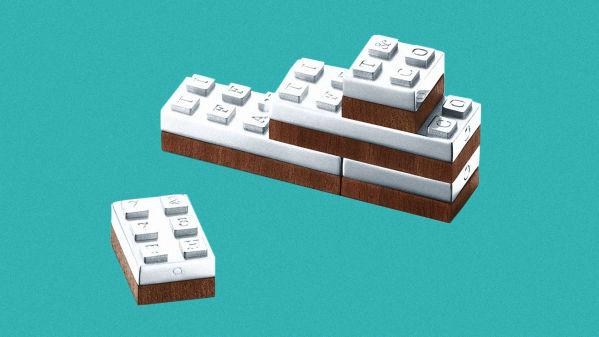 Tiffany Sterling Silver Building Blocks