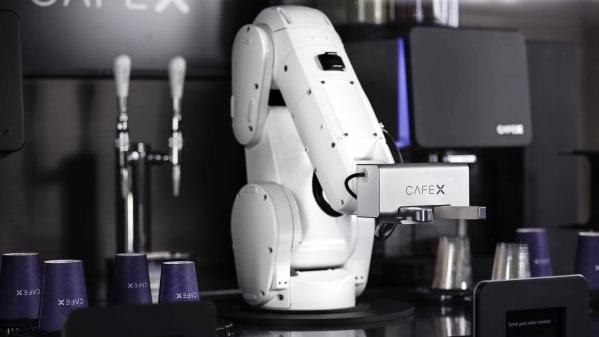 Cafe X Robotic Coffeebar