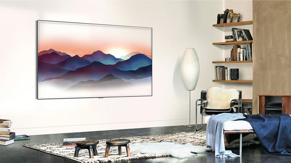 QLED TV featuring Ambient Mode