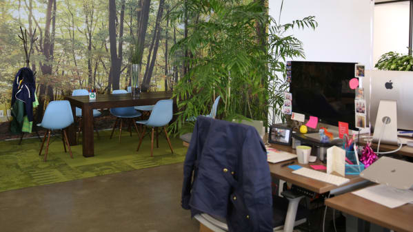 Data-driven approach to open workspace