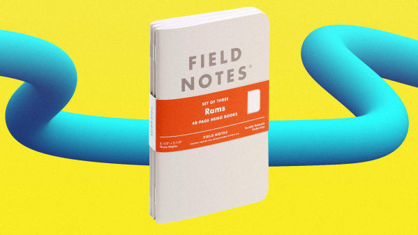 A notebook for design snobs