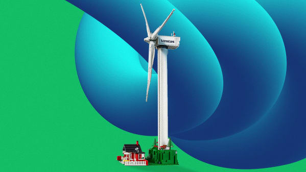 Celebrate green energy, with Lego