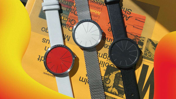 A subway-inspired watch