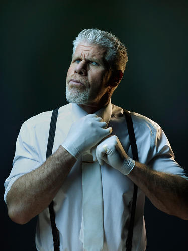 <p>From the GQ villains series: Ron Pearlman</p>