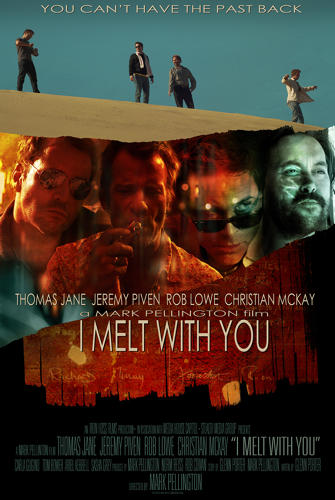 <p>Unused teaser poster design by Tim Bradstreet. Raw Entertainment co-production, starring Thomas Jane, Jeremy Piven, and Rob Lowe, chronicles a reunion gone awry.</p>