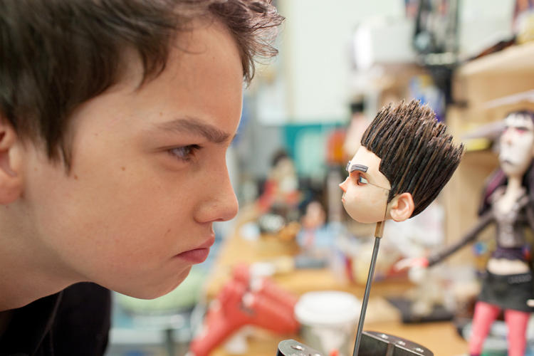 <p>Kodi Smit-McPhee sizes up Norman, the character he voices.</p>