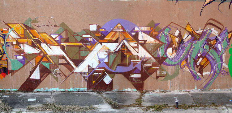 <p>Los Angeles artist <strong>Augustine Kofi</strong> painted this mural for Art Basel in Miami, FL.</p>
