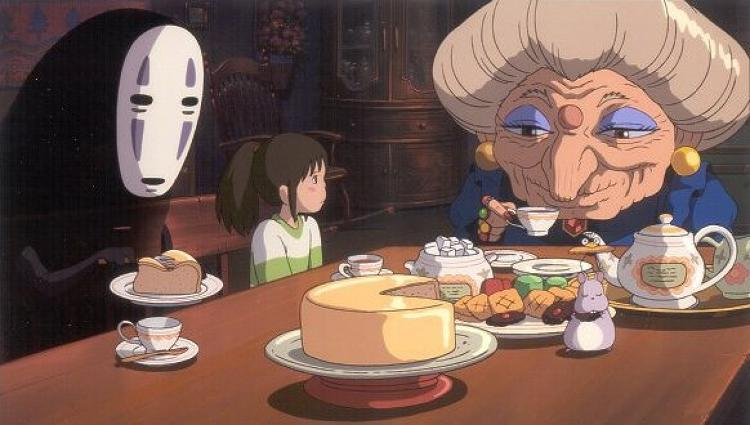<p><strong><em>Spirited Away</em>, 2001</strong><br /> &quot;This is the one that won the Oscar, and I can see why. It's even more accessible for a Western audience, I feel, because there was something in the story arc that was so satisfying and almost classic in structure with Spirited Away. It's a complete coming of age story: the little girl is despondent and going through a move at the beginning of the story, and she's scared, there's a limpness about her. Then you see her really finding her confidence in the movie, through working hard, through polishing floors and having this adventure.&quot;</p>