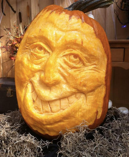 <p>Pumpkins from Pam Leno.</p>