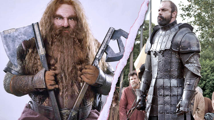 <p>Winner: Gimli.<br /> While he may be a big mountain of a man, hence the nickname, <em>Game of Thrones</em>' The Mountain might fall under a series of brutal ax-blows inflicted by the dwarf Gimli. Martin gives the little guy the edge here.</p>