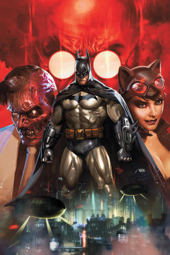 <p>Though these <a href=&quot;http://www.comixology.com/Batman-Arkham-Unhinged/comics-series/7192&quot; target=&quot;_blank&quot;>two</a> <a href=&quot;http://www.comixology.com/Batman-Beyond-2012/comics-series/7654&quot; target=&quot;_blank&quot;>titles</a> do little to advance the comics artform and the stories are typical fare for Batman fans, these digital-first comics demonstrate DC's apparent strategy of bringing fans of its characters in other media (videogames and cartoons) to comics through direct-to-digital releases rather than going through print comic book retailers. Same Bat-time, new Bat-channel. Smart move, DC.</p>