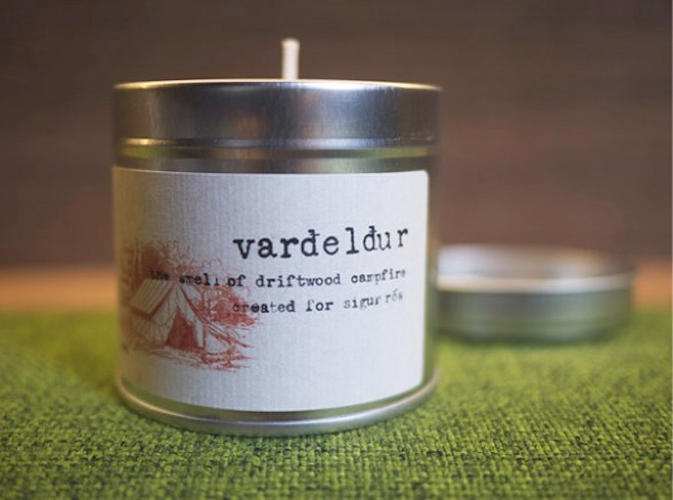 <p>An almost briny, campfire-like smell awaits fans of Sigur Rós who <a href=&quot;http://sigur-ros-store.com/valtari/sig030006-sigur-ros-scented-candle/&quot; target=&quot;_blank&quot;>purchase</a> their latest piece of merchandise: a candle that is said to capture the olfactory flavor of the Icelandic band's studio.</p>