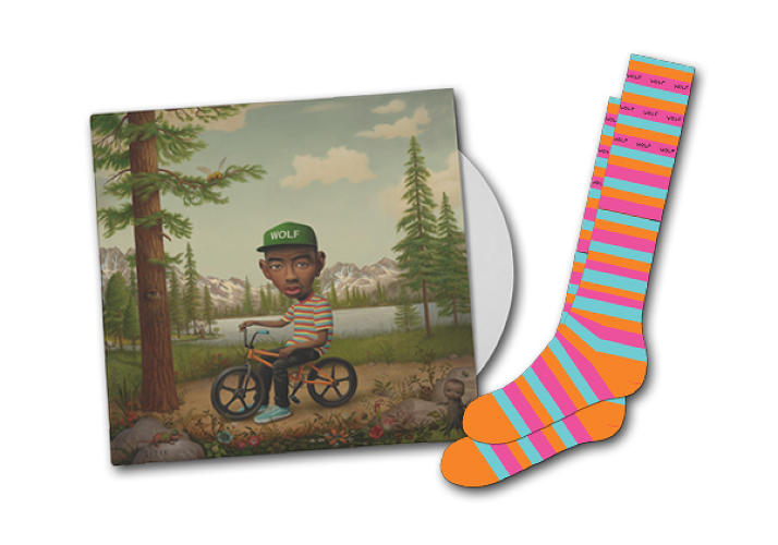 <p>Although not officially billed as Big Bird socks, these <a href=&quot;http://www.golfwang.com/assets/images/wolf-bundle.png&quot; target=&quot;_blank&quot;>Odd Future feet warmers</a> sure do look suspiciously like your favorite giant canary's legs.</p>