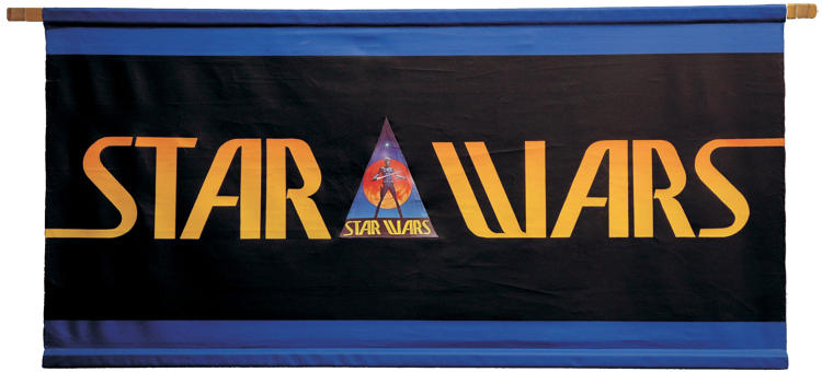 "<p>This canvas banner means a lot to me. Lucasfilm used it when it took <em>Star Wars</em> directly to fans at conventions in 1976—a year before the movie opened. I've had it for a long time, but it was only about six years that I discovered who painted it: the masterful concept artist who created the look of the Star Wars galaxy, the late Ralph McQuarrie. ""I remember painting that,"" Ralph told me. ""That's my original logo design—and I still like it better than the one they ended up with!""</p>"
