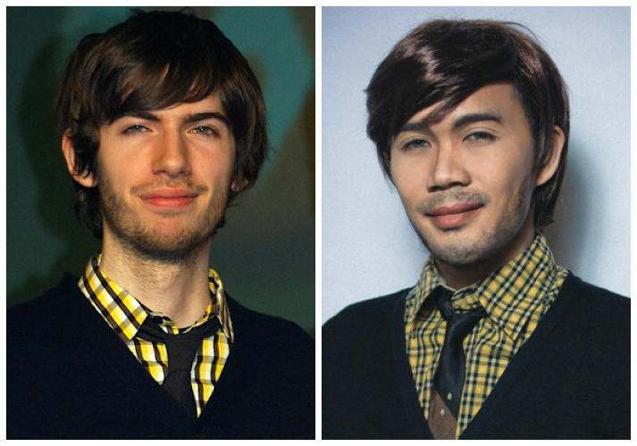 <p>Gallarde as Tumblr CEO David Karp.</p>