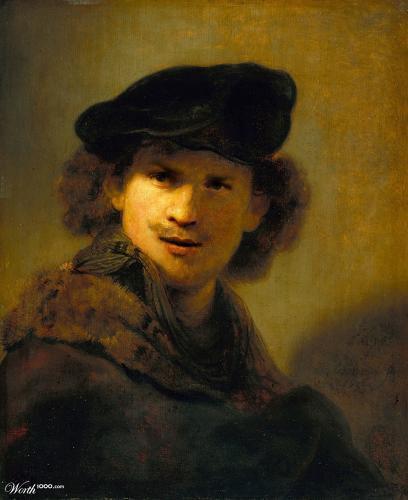 <p>Tom Hardy inspired by Rembrandt.</p>