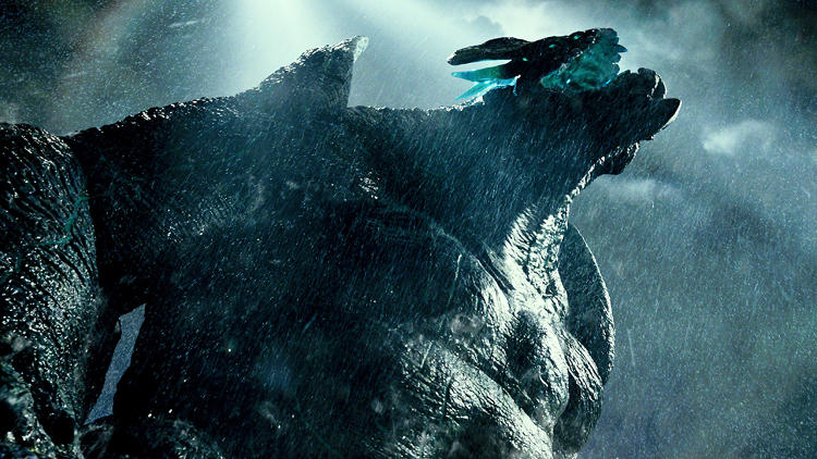 <p>A Kaiju, code name &quot;Leatherback&quot;</p>