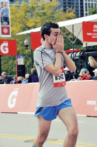 <p>Qualifying for the <a href=&quot;http://twitter.com/nathangiannini/status/354464826023608320/photo/1&quot; target=&quot;_blank&quot;>Boston Marathon</a> a year after dropping out at Mile 25</p>