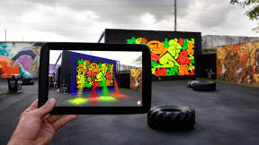 Rethinking Public Space: B.C. Biermann's Augmented Reality Urban Art