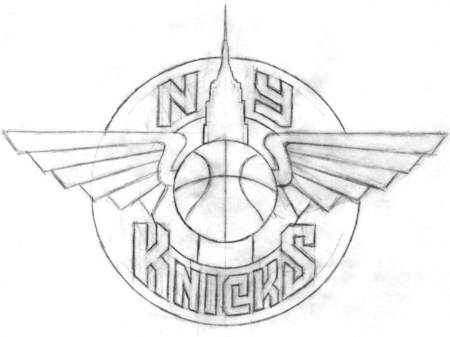 the all star ny knicks logo that should have been co design business design