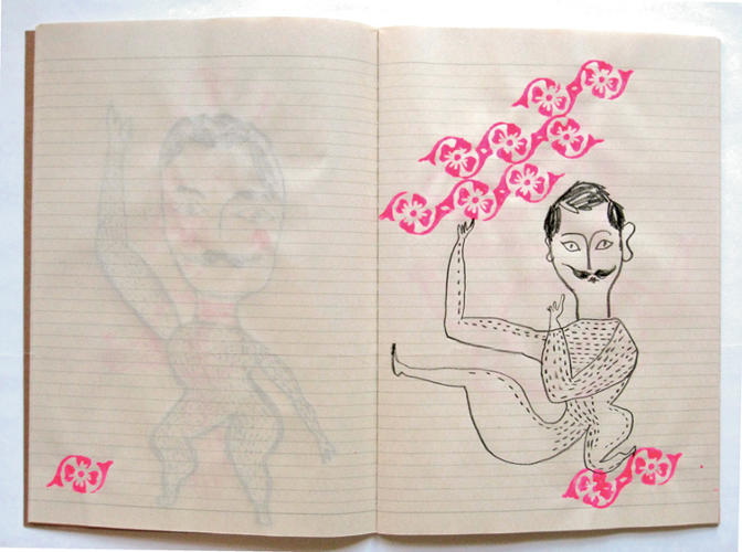 "<p>talian-born, London-based children's book author and illustrator Sara Fanelli's first sketchbooks were a record of her travels when she was in her teens. Now, Fanelli explains, ""I have several sketchbooks all at once. One is to keep ideas, some are for visual research (different paper for different media), and then usually a new one when traveling.""</p>"