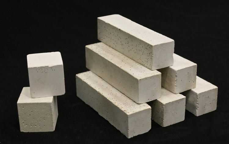 <p>The winner of this year's Material of the Year award. Produced by Novacem, a British company, the material adjusts the basic chemistry of the commonplace Portland cement. Instead of calcium carbonates, it uses magnesium oxides and silicates. In English, that means making the concrete requires almost 95% less carbon emissions. In addition, the raw materials are readily available around the world.</p>