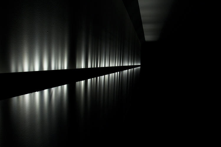 <p><em>Voice Array</em>, by Rafael Lozano-Hemmer, premiered in 2011 at the Museum of Contemporary Art in Sydney.</p>