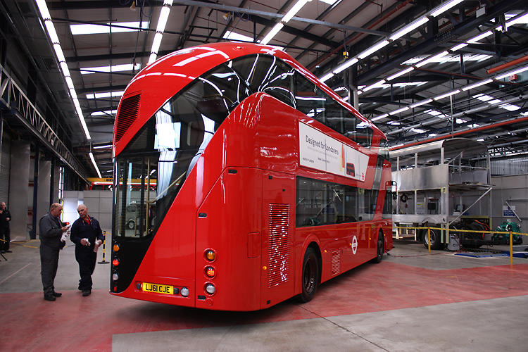 <p>In January 2010, Heatherwick Studio won a coveted commission to revamp London's famed red double-decker bus. The design encourages speedier boarding: With a rear open platform, passengers can hop on and hop off in a jiffy.</p>