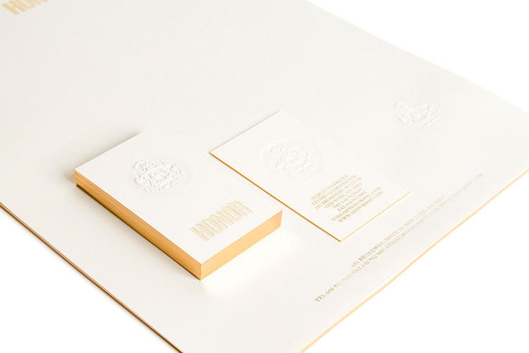 "<p>For fashion newcomer Honor, Ro and Co designed an identity reminiscent of an old-world atelier, complete with a family crest, while avoiding old-fashioned stuffiness. The tagline: &quot;Honor the past, honor the present.""</p>"