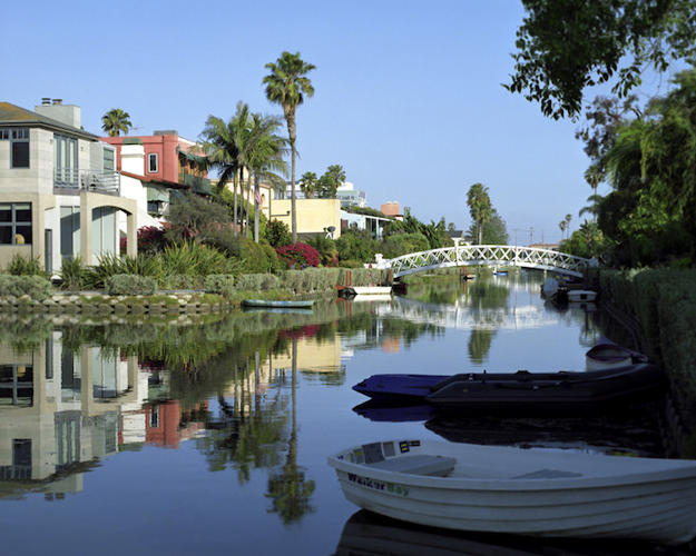 <p>The Venice Canals were once created as part of an ambitious residential and entertainment center in the early 1900s.</p>