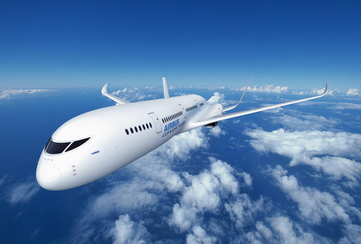 <p>Airbus's bionic plane takes its inspiration from nature.</p>