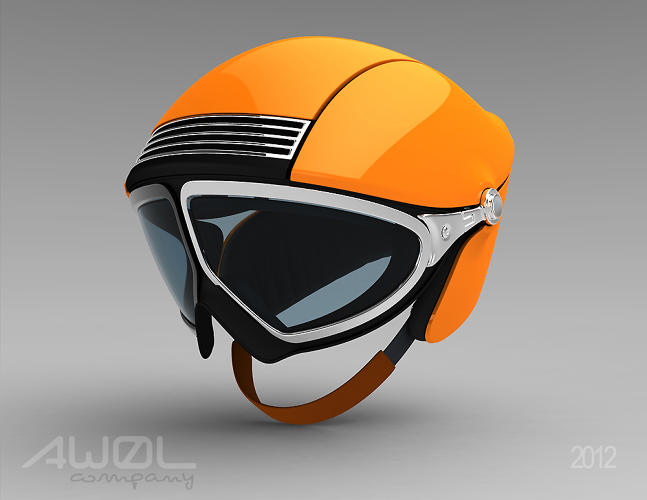 <p>Andy	 Logan's Ski Helmet bore a striking resemblance to the orange 911, from 1963, which featured in <a href=&quot;http://www.fastcodesign.com/1669033/the-iconic-lines-and-details-that-define-the-porsche-911&quot; target=&quot;_self&quot;>our original inspiration slideshow</a>.</p>