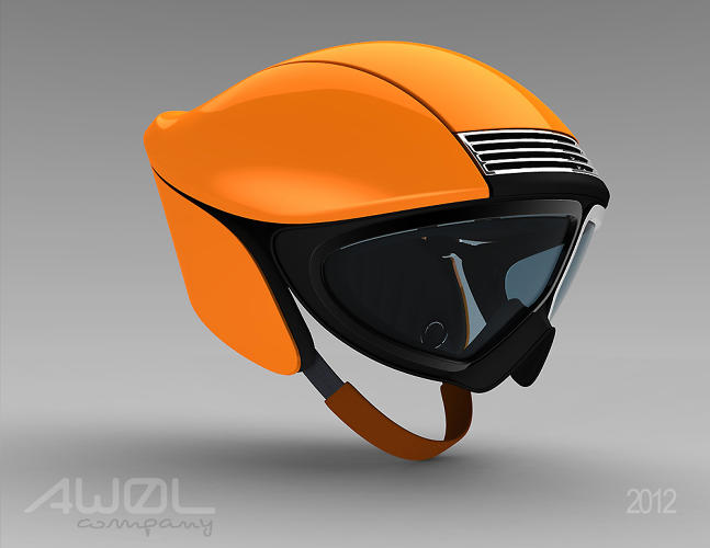 <p>The judges though were a bit confused by the asymmetry of the goggle frame finish.</p>