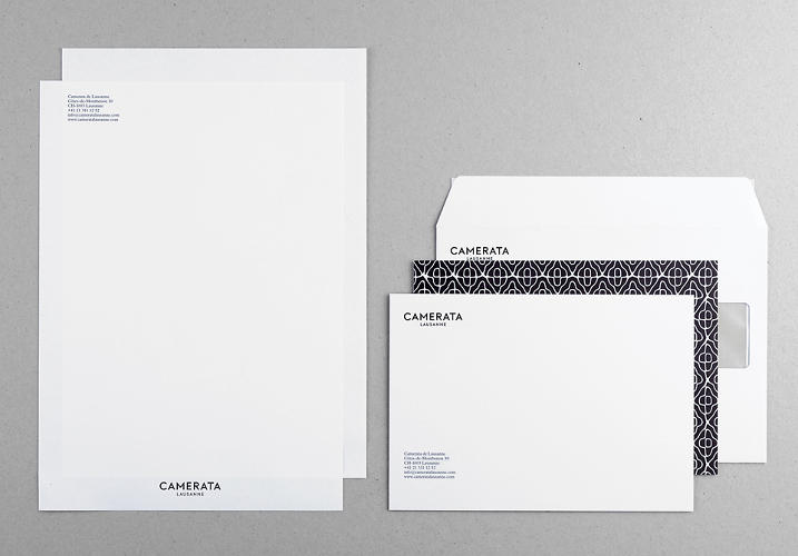 <p>Conrad created a logotype, letterhead, envelopes, and business cards.</p>