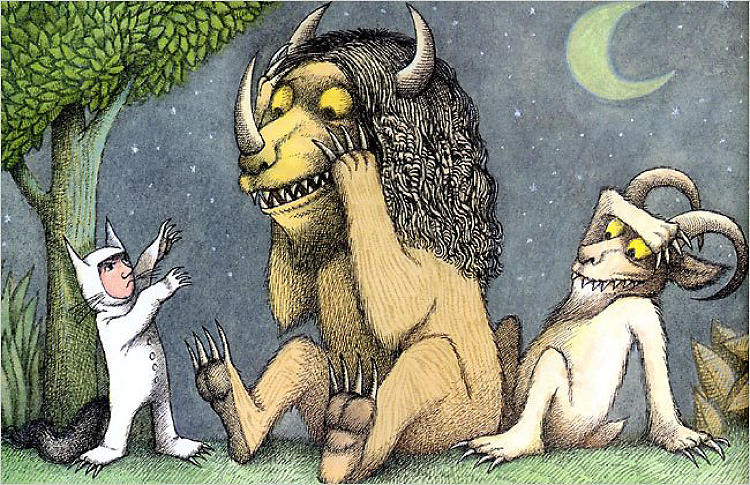 <p><em>Where the Wild Things Are (1963)</em></p>